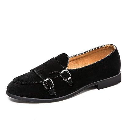 Zapatos Mocasines para hombre 2018 Mocasines de conducción de los hombres mocasines de cuero de gamuza