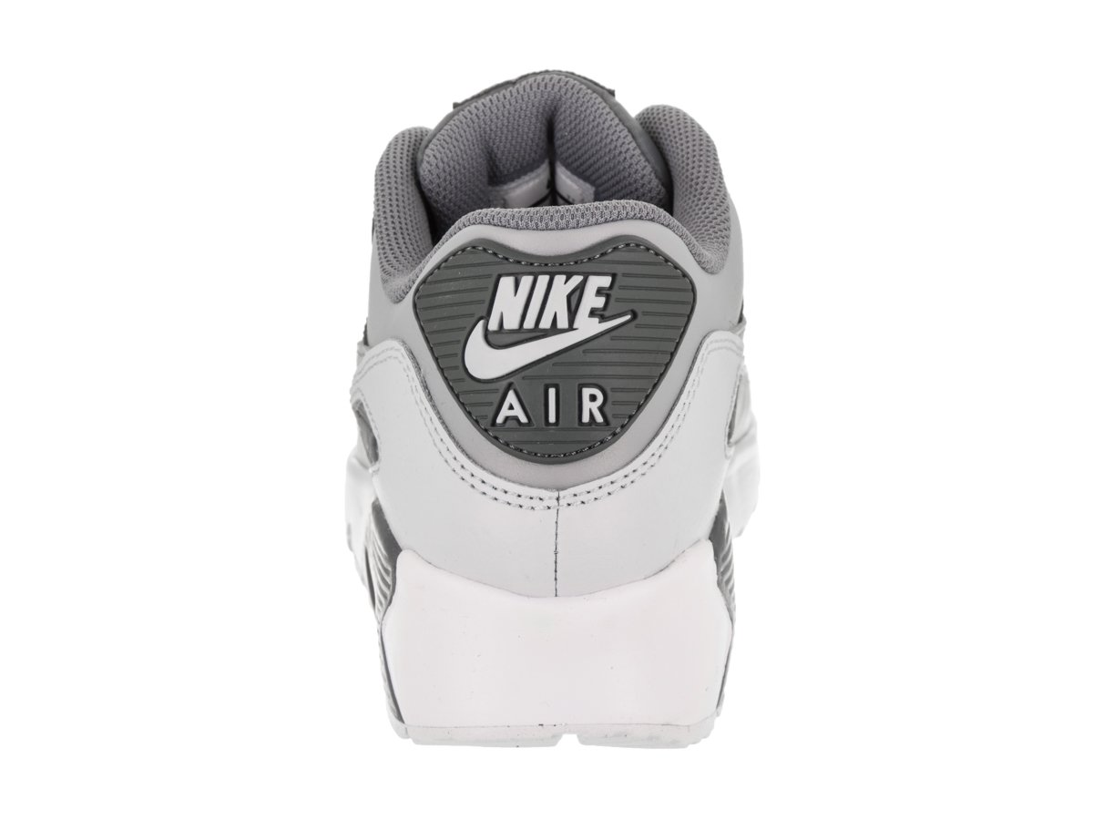 NIKE Kids Air Max 90 LTR (GS) Cool Grey/Wolf Grey Running Shoe 5 Kids US