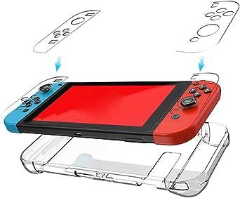 Funda protectora para Nintendo Switch Diadia, ultrafina, transparente, delgada, de cristal, compatible con Nintendo Switch: Amazon.es: Iluminación