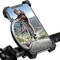 自転車 スマホ ホルダー 強力固定 360度回転