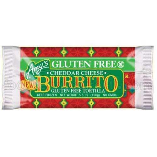 Amys Burrito, Bean & Cheese, 5.5 oz (12)