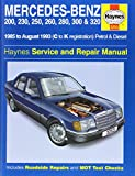 img - for Mercedes Benz 124 Series (85-93) Service and Repair Manual (Haynes Service and Repair Manuals) book / textbook / text book