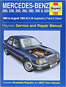 Mercedes Benz 124 Series 85 93 Service And Repair Manual Haynes Service And Repair Manuals Spencer Drayton Mark Coombs Steve Rendle 9781859602539 Amazon Com Books