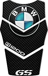 Motorbike Tank Pad Protector Motorcycle Scratch Pad compatible \'\'bmw r 1200 gs 17.5 cm x 28 cm \'