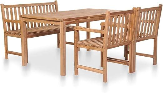 Fesjoy Juego de Mesa y sillas de Cocina Conjunto de Muebles de ...