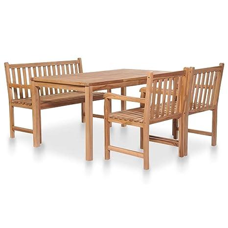 Fesjoy Juego de Mesa y sillas de Cocina Conjunto de Muebles ...