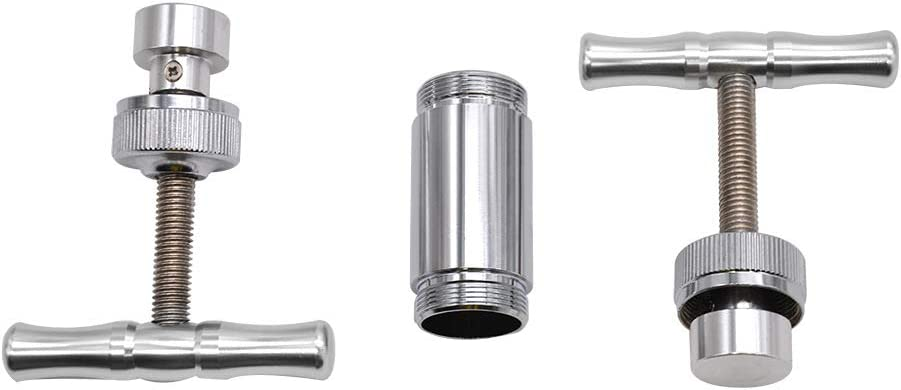 OUYAWEI Sale Pollen Press Tool Heavy Duty Zinc Ultimate Pressure Metal Pollen Press Compressor Single Handle