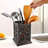Vintage Decorative Kitchen Utensil Holder Cooking Utensil Organizer Perfect Gift for Cooking