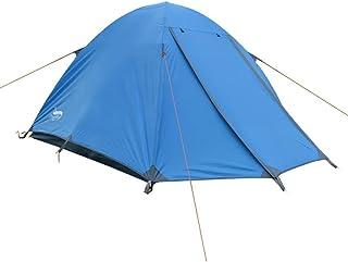 DXG&FX 3-4 Gens Double Tente Personne extérieure tentes Camping résistant à la tempête Tente de Poteau en Aluminium