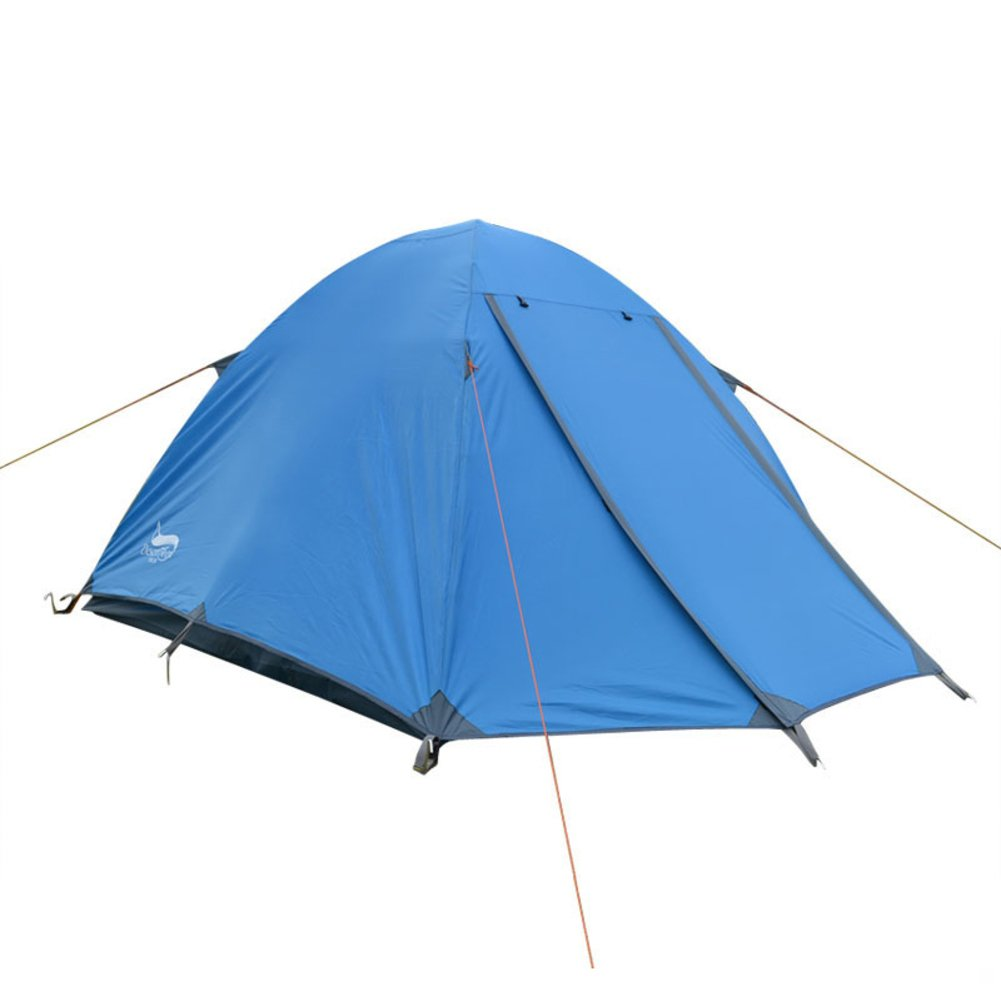 3-4  Herrenchen doppelte Zelt Outdoor-Personen-Zelte camping sturmsichere Aluminium-Mast-Zelt