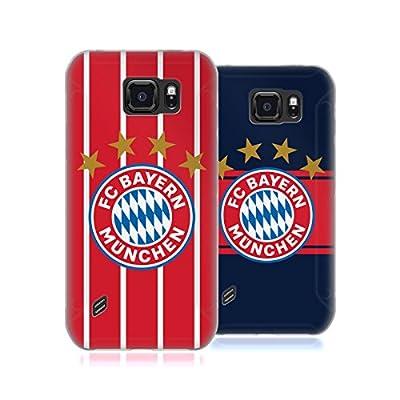 Official FC Bayern Munich 2017/18 Logo Kit Soft Gel Case for Samsung Galaxy S6 active