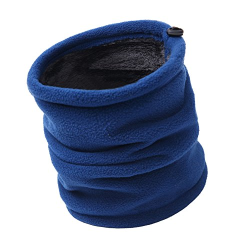 Vimans 2016 Fashion Unisex Outdoor Winter Soft Multi-use Fleece Neck Warmer Neck Gaiter B