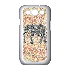 Tribal Paisley Elephant Colorful Henna Floral Pattern 3D Printed Case for Samsung Galaxy S3 I9300 Casehome-00108