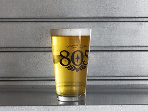 - Firestone Walker Brewing Company - 805 - 16oz Pint Glass