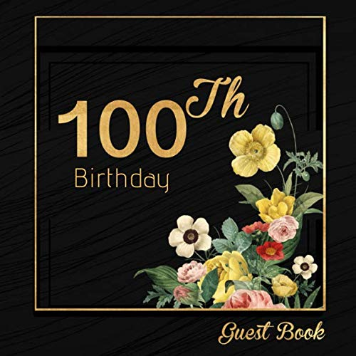 100th Birthday Guest Book]()