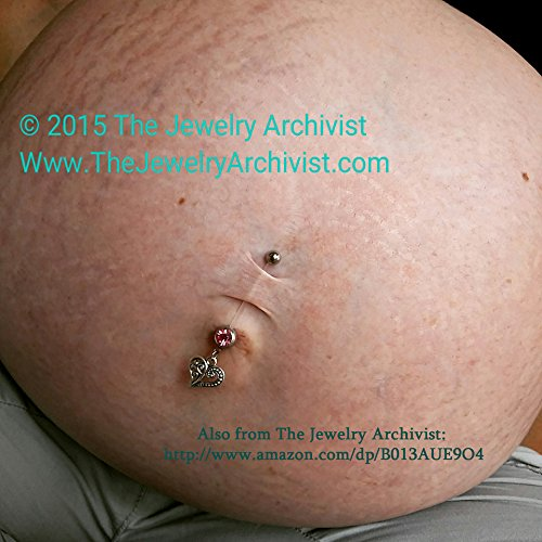 Amazoncom The Jewelry Archivist Maternity Flexible Belly Button