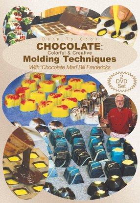 - Dare To Cook, Chocolate: Colorful & Creative Molding Techniques