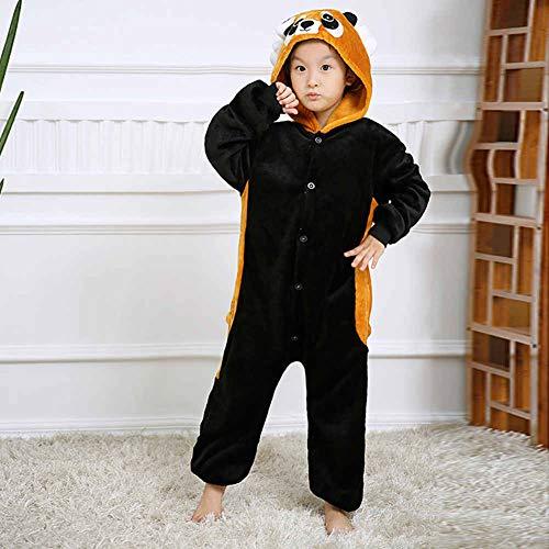 Cosplay Bambini Animale per Procione Pigiama Unisex I0vxw8z