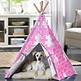 Merry Products Puzzle Printed Pet Teepee