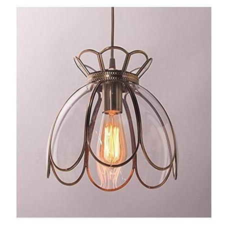 Lámpara de pared American Retro Lotus All Bronce, lámpara de ...