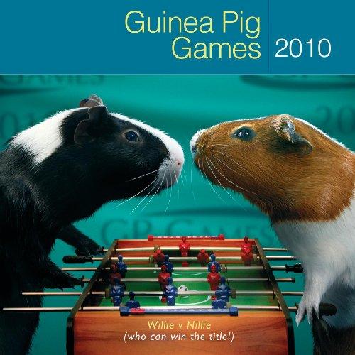 Guinea Pigs 2010 Calendar - Guinea Pig Games 2010 Wall