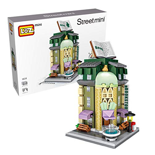 LOZ Mini Building Blocks Toys for Kids&Adults Christmas/Thanksgiving/Birthday Gifts Street Seriers in Office Building