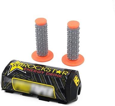 Manillar de motocicleta de pl/ástico protector de manillar para motocicleta motocross ATV 22 mm 7//8 naranja Pro Caken