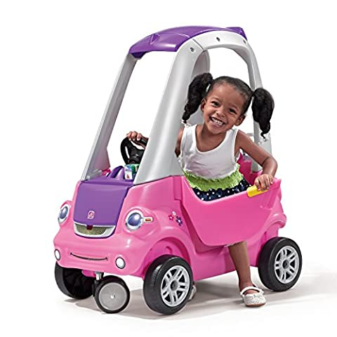 Step2 Easy Turn Coupe Pink Ride On - Cozy Coupe