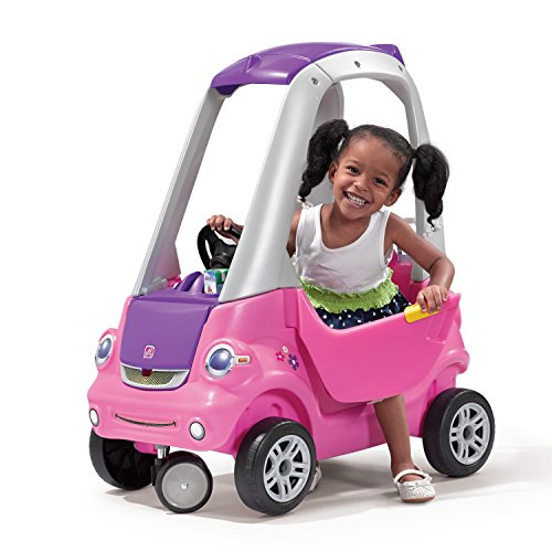 Step2 Easy Turn Coupe Pink Ride On (Around Push Buggy Pink)
