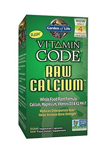 Garden of Life Raw Calcium, 120 Capsules (2 Pack)