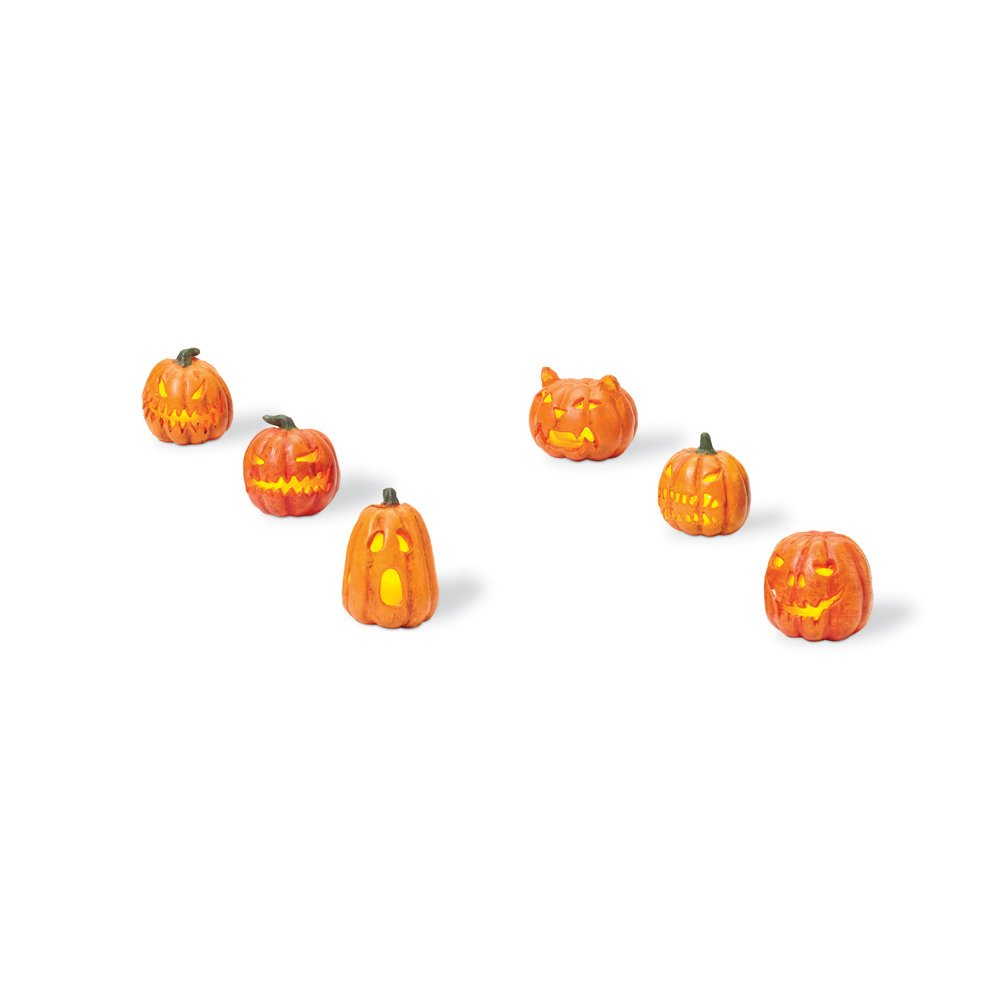 Department 56 Lit Jack-O-Lanterns (Set of 6) by Department 56