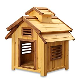 Pet Squeak Bird Dog House Small