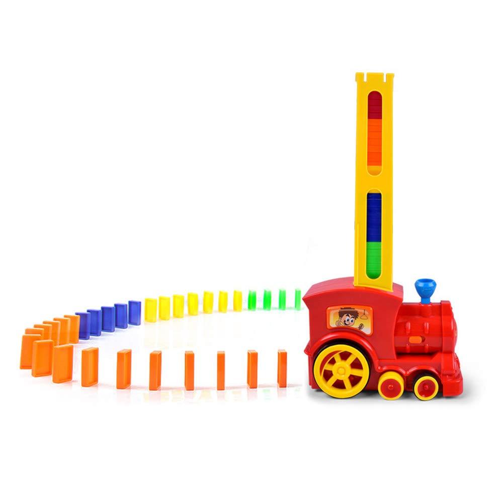 pour Enfant Intelligence Domino /électrique Train Train /électrique avec modulateur Automatique Pendule d/échecs Dominos Rally Electric Train Train /à Jouer Ensemble