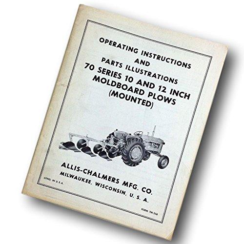 Moldboard Plow (Allis Chalmers 70 Series 10