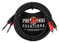 Image of the product Pig Hog PD R1410 Dual RCA that is listed on the catalogue brand of Pig Hog.