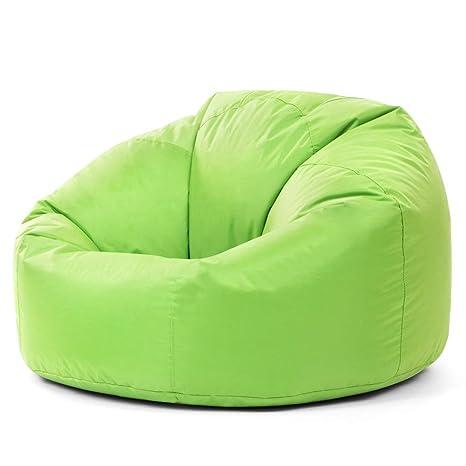 Poltrona A Sacco.Bean Bag Bazaar Panelled Xl Poltrona Sacco Poltrona A Sacco Per Interni Esterni Verde Lime Extra Grande Impermeabile