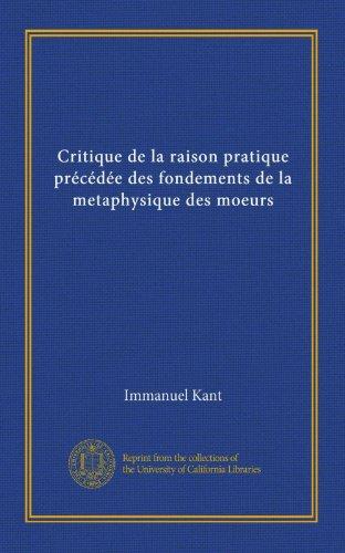 Critique De La Raison Pratique [Pdf/ePub] eBook