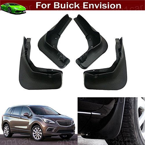 Flaps Splash Guard Protective Fender Mudguard Mudflaps Mud Guards for Buick Envision 2016 2017 2018 2019 ()
