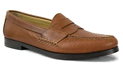 New Hayes Men's Dress Penny Loafers Size US 8 M Tan Style # 15-2616