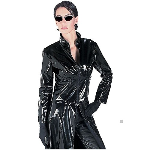 Matrix Trinity Costume (Trinity Glasses The Matrix Reloaded Adult Womens Halloween Costume Accessory)