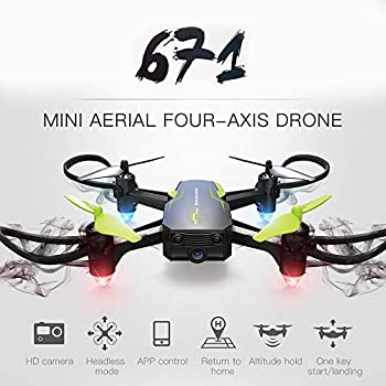 ❤️MChoice❤️Mini 601W 2.4G 6-Axis WiFi FPV 0.3MP HD Camera with Altitude Hold RC Quadcopter Drone Toys