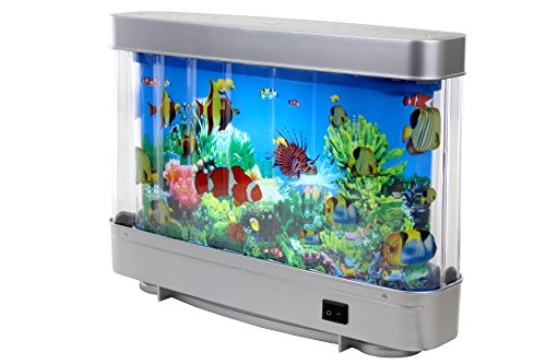 Lightahead artificial tropical fish aquarium decorative for Fake artificial aquarium fish tank