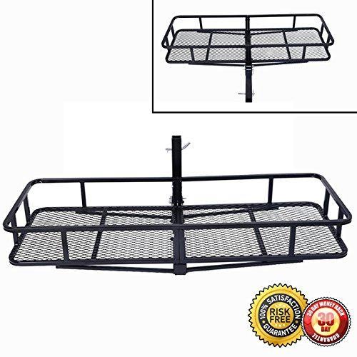 Hauler Truck Rack (New Folding Cargo Carrier Luggage Rack Hauler Truck or Car Hitch 2