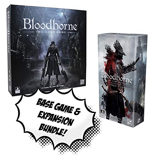 Bloodborne The Card Game + Bloodborne: The Hunter's Nightmare Expansion! Board Game Bundle! (Best Randomly Generated Games)
