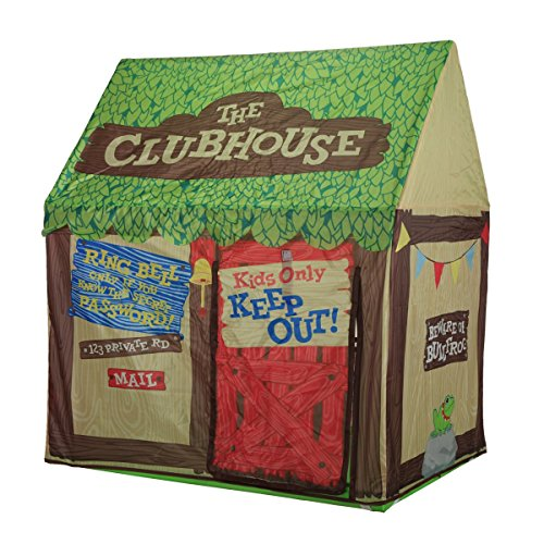 Kids Play Tent Children Playhouse - Indoor Outdoor Tent Model Clubhouse Green Portable (And Playhouses Kids Tents)