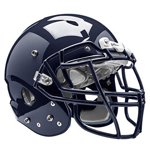 Schutt Sports Vengeance VTD II Football Helmet Without Faceguard, Navy, Large (Football Helmets Youth Revo Speed)