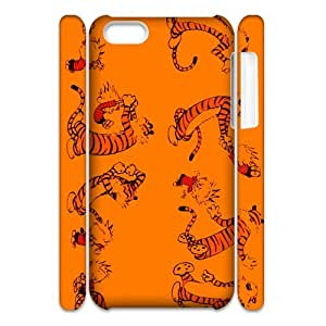 Custom daily comic strip Calvin and Hobbes iPhone 5C 3D Hard Plastic Shell Case Cover(HD image)