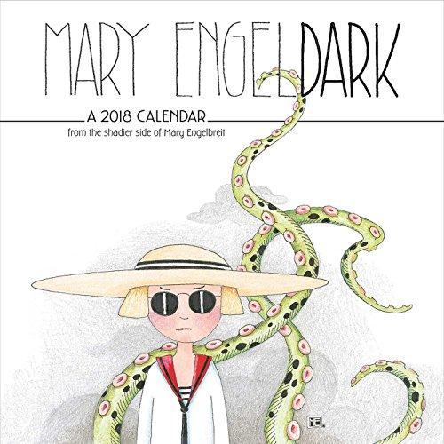 Mary EngelDark 2018 Wall Calendar