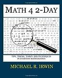 Math 4 2-Day, Michael Irwin, 1460993020