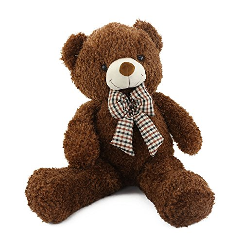 Wewill Giant Huge Cuddly Stuffed Animals Plush Teddy Bear with Bow-knot Gifts for Valentine's Day Birthday Children's day Xmas Day,...